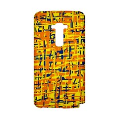 Yellow, orange and blue pattern LG G Flex