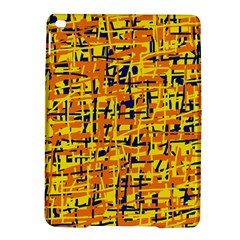 Yellow, orange and blue pattern iPad Air 2 Hardshell Cases