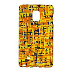 Yellow, orange and blue pattern Galaxy Note Edge