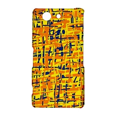 Yellow, orange and blue pattern Sony Xperia Z3 Compact
