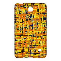 Yellow, orange and blue pattern Samsung Galaxy Tab 4 (7 ) Hardshell Case