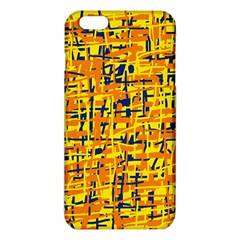 Yellow, orange and blue pattern iPhone 6 Plus/6S Plus TPU Case