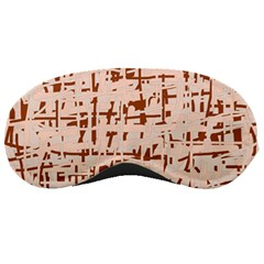 Brown elegant pattern Sleeping Masks