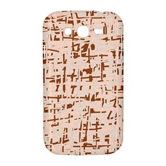 Brown elegant pattern Samsung Galaxy Grand DUOS I9082 Hardshell Case