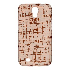 Brown elegant pattern Samsung Galaxy Mega 6.3  I9200 Hardshell Case