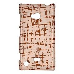 Brown elegant pattern Nokia Lumia 720