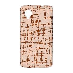 Brown elegant pattern LG Nexus 5