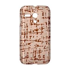 Brown elegant pattern Motorola Moto G