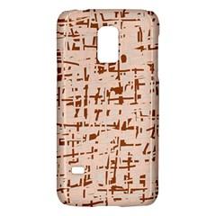 Brown elegant pattern Galaxy S5 Mini