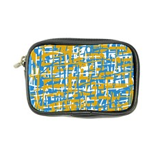 Blue and yellow elegant pattern Coin Purse