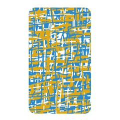 Blue and yellow elegant pattern Memory Card Reader