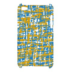 Blue and yellow elegant pattern Apple iPod Touch 4