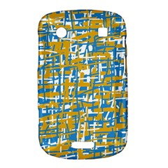 Blue and yellow elegant pattern Bold Touch 9900 9930