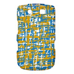 Blue and yellow elegant pattern Torch 9800 9810