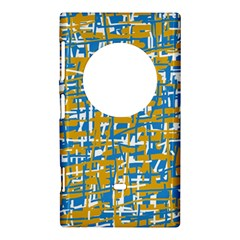 Blue and yellow elegant pattern Nokia Lumia 1020