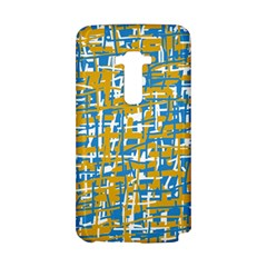 Blue and yellow elegant pattern LG G Flex