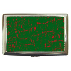 Green and red pattern Cigarette Money Cases