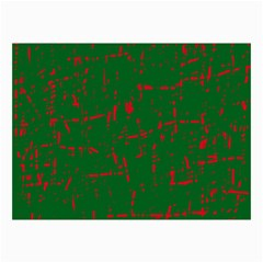 Green And Red Pattern Collage Prints