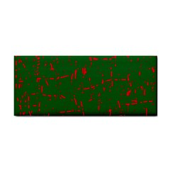 Green and red pattern Hand Towel