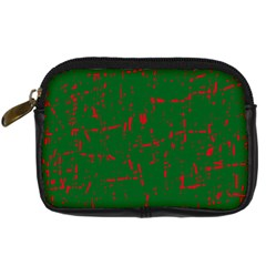 Green and red pattern Digital Camera Cases