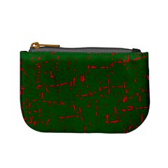 Green and red pattern Mini Coin Purses