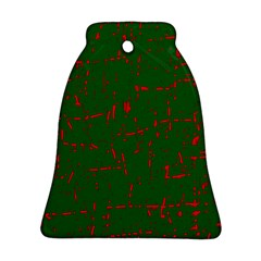 Green and red pattern Ornament (Bell)