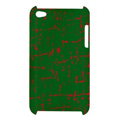 Green and red pattern Apple iPod Touch 4