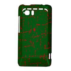 Green and red pattern HTC Vivid / Raider 4G Hardshell Case