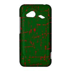 Green and red pattern HTC Droid Incredible 4G LTE Hardshell Case