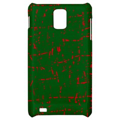 Green and red pattern Samsung Infuse 4G Hardshell Case