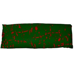 Green and red pattern Body Pillow Case (Dakimakura)