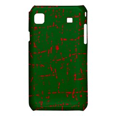 Green and red pattern Samsung Galaxy S i9008 Hardshell Case