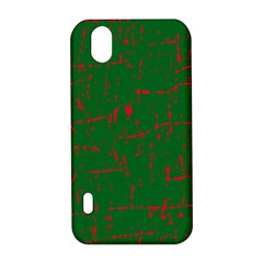 Green and red pattern LG Optimus P970