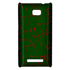Green and red pattern HTC 8X