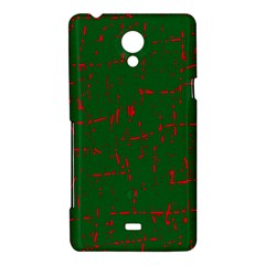 Green and red pattern Sony Xperia T