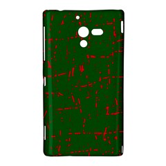 Green and red pattern Sony Xperia ZL (L35H)