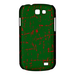 Green and red pattern Samsung Galaxy Express I8730 Hardshell Case