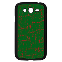 Green and red pattern Samsung Galaxy Grand DUOS I9082 Case (Black)