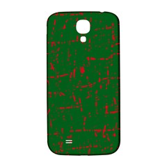 Green and red pattern Samsung Galaxy S4 I9500/I9505  Hardshell Back Case