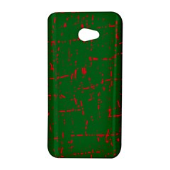 Green and red pattern HTC Butterfly S/HTC 9060 Hardshell Case