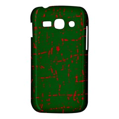 Green and red pattern Samsung Galaxy Ace 3 S7272 Hardshell Case
