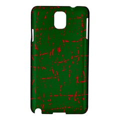 Green And Red Pattern Samsung Galaxy Note 3 N9005 Hardshell Case