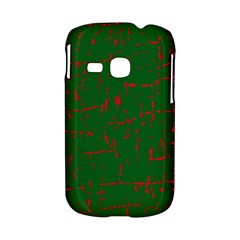 Green and red pattern Samsung Galaxy S6310 Hardshell Case