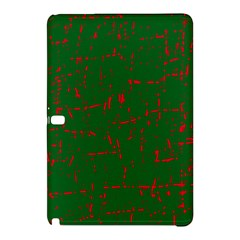 Green and red pattern Samsung Galaxy Tab Pro 12.2 Hardshell Case