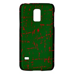 Green and red pattern Galaxy S5 Mini