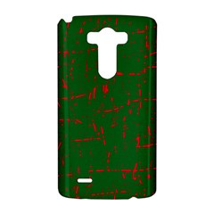 Green and red pattern LG G3 Hardshell Case
