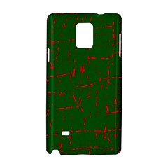 Green and red pattern Samsung Galaxy Note 4 Hardshell Case