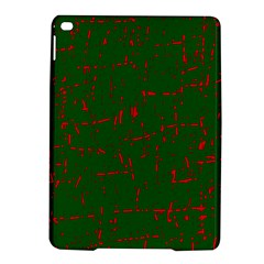 Green and red pattern iPad Air 2 Hardshell Cases