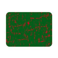 Green and red pattern Double Sided Flano Blanket (Mini)