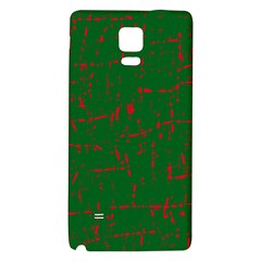 Green and red pattern Galaxy Note 4 Back Case